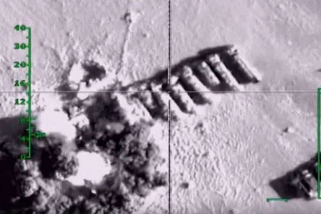 Russian warplanes conducted the third massive air attack on the terrorists in Syria on the morning of November 19, Andrei Kartapolov, chief of the Main Operations Directorate, Russian General Staff, told journalists. Thursday, November 19, 2015-, at 09.00 Moscow time (06.00 GMT), the Russian Aerospace Force has delivered the third massive airstrike against illegal armed groups in Syria, said Andrei Kartapolov.