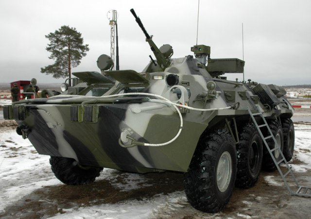 NBC protection units from Central Military District will receive 30 RKhM 6 and ARS 14KM vehicles 640 001