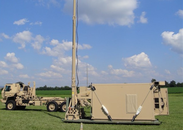 NGC delivered prototype AMD Battle Command shelters to the US Army