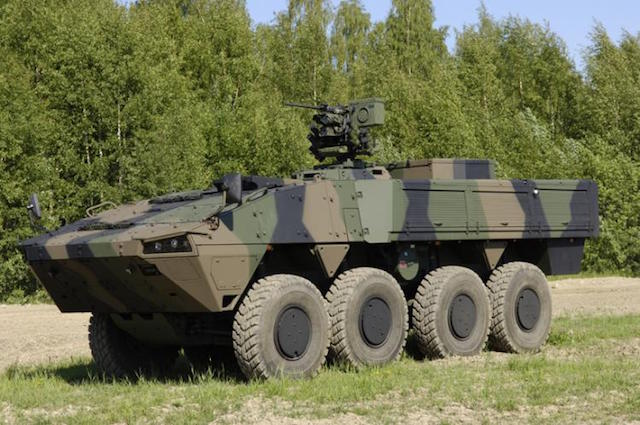Patria offers joint production on Lithuania's IFV