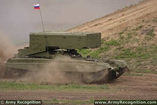 Russian TOS 1A heavy flamethrower is diplaying keen interest about counterterrorist operations 640 001