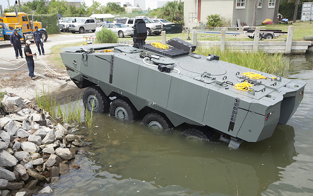 SAIC and BAE Systems win USMC's amphibious combat vehicle competition SAIC