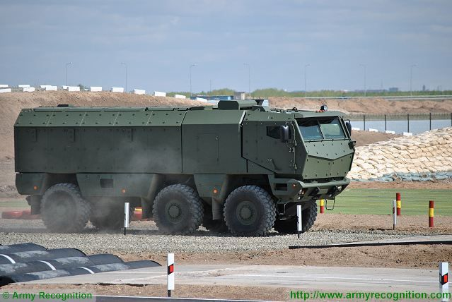 The KAMAZ-63968 Typhoon-K 6x6 armored will be optimized after field tests by Russian army 640 001
