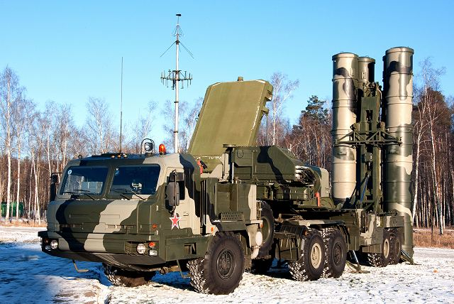 The delivery of Russian-made S-400 air defense missile system to China in less than one year 640 001