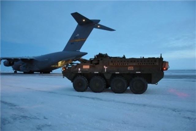 US Army deployed Strykers to Arctic Circle for the first time