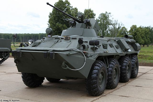 BTR-82A 8x8 armoured enters in service with the Russian 45th Specialized Airborne Brigade 640 001