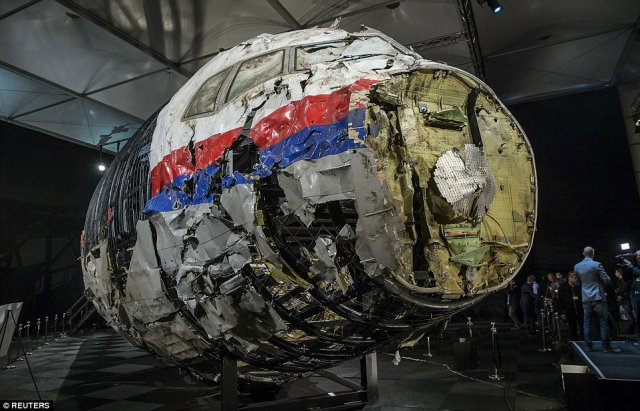 Flight MH17 was shot down by a Russian made BUK missile 640 002