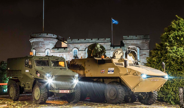 GDLS UK completes LAV Demonstrator's and Ocelot's 650-mile Tactical Road Move 2