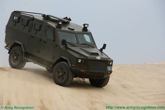 International Armored Group to deliver 8 Jaws 4x4 APC to Royal Malaysian Police 640 002