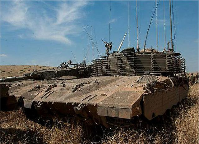 Israeli Army has developed a new armoured personnel carrier based on Merkava Mk 2 MBT 640 001