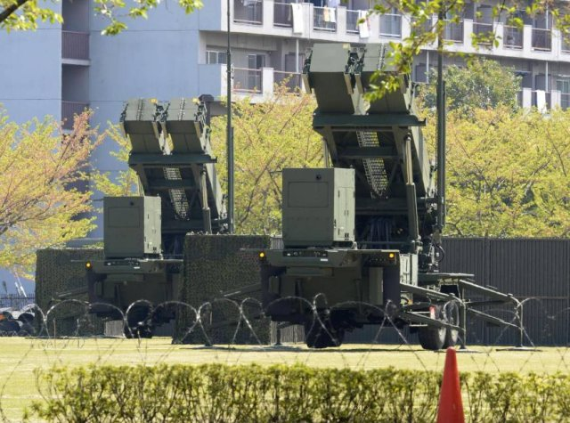 Japan achieves deployment of its 24 Patriot air defense missile batteries 640 001