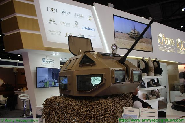 KADDB showcased Snake Head hybrid cupola at DSEi 2015 1
