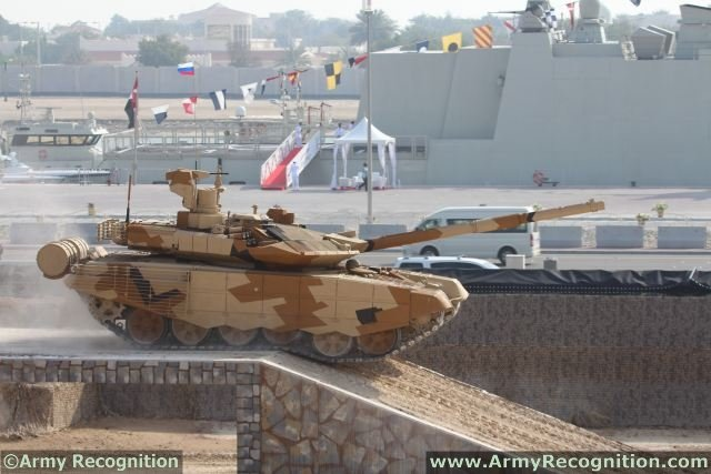 Kuwait is interested in purchasing upgraded Russian made tanks T90MS 640 001
