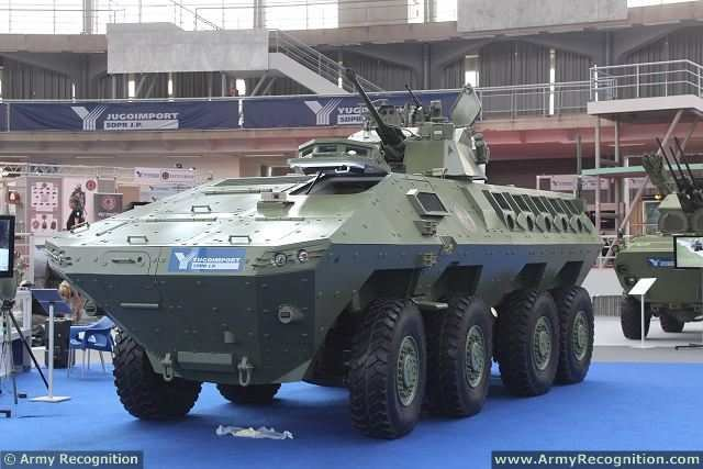 Lazar 2 8x8 MRAV MRAP Multi-Purpose armoured vehicle YugoImport Serbia Serbian defense industry military technology 005