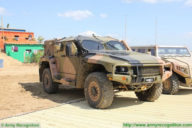 Plasan will deliver advanced armoured hull and protection systems for Australian Hawkei 640 001