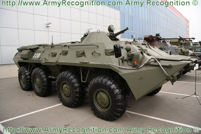 Russia already fulfilled almost 80percent of the BTR-80 upgrades to the BTR-82AM 640 001