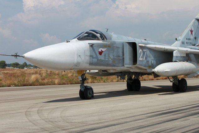 The number of Russian Aerospace Forces /VKS/ combat planes' sorties from the Hmeimim airbase in Syria against facilities of the Islamic State, prohibited in Russia, is growing. Igor Konashenkov, a MoD official, told the journalists that during the 12-13 period the Russian air group has flown 88 combat sorties against 86 IS facilities.