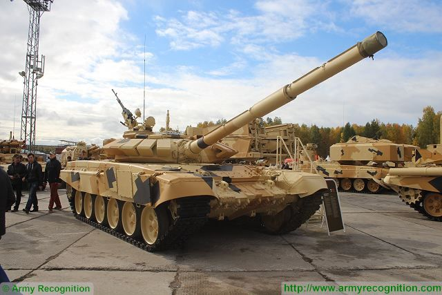 Russian Army Eastern Military District received the first batch of T-72B3 main battle tanks 640 001