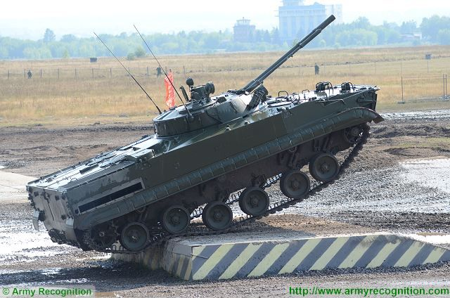 Russian army reconnaissance units in Siberia now equipped with BMP-3 infantry fighting vehicle 640 001