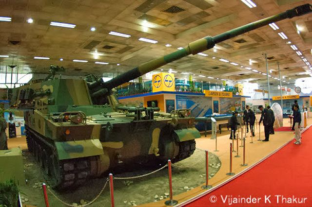 Indian engineering major, Larsen & Toubro (L&T), in partnership with Korea's Samsung Techwin (STW), has bagged a Rs 4,875-crore ($750 million) order for supplying the Indian Army with 100 self-propelled tracked howitzers, K-9 Vajra.