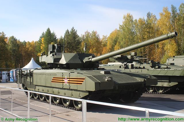 Tests completed on radar absorbent coating that can be used on Armata tank platform 640 001