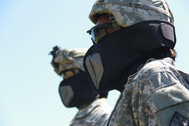 United States Army researchers have developed a simple, comfortable, wrap-style respiratory protective mask for protection against riot control agents, and the U.S. Army Edgewood Chemical Biological Center, also known as ECBC, is making it as a simple as putting on a surgical mask.