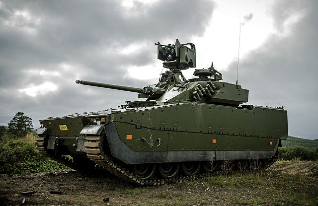 BAE Systems has delivered 12 new upgraded CV90 Infantry Fighting Vehicles to Norwegian Army 640 001