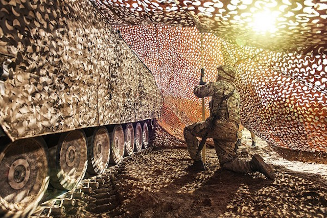 GDUK contracted Saab for advanced mobile camouflage systems