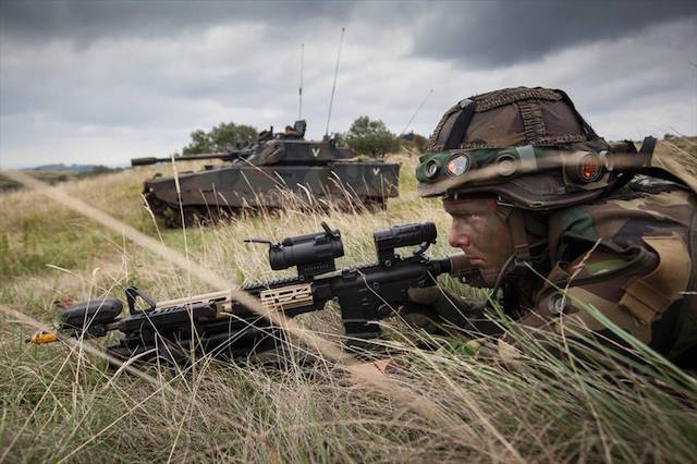 Joint German Dutch armoured division to become operational in 2019