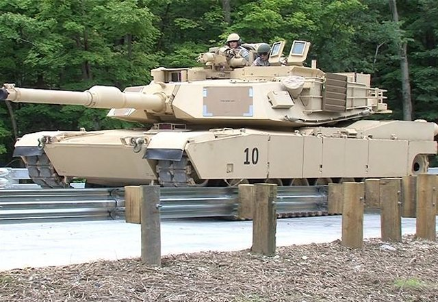 M1A1 SA Situational Awareness main battle tank United States US army defense industry military technology 640 001