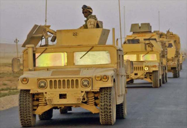 More HMMWV for Tunisia