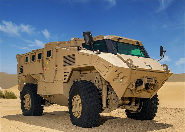 NIMR from UAE expands its offer in the military market with the N35 4x4 armoured vehicle 640 001