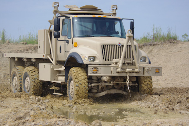 Navistar MTV trucks for the Afghanistan National Security Force