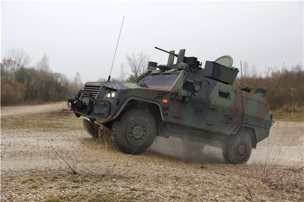 Rheinmetall Polish configuration of the AMPV