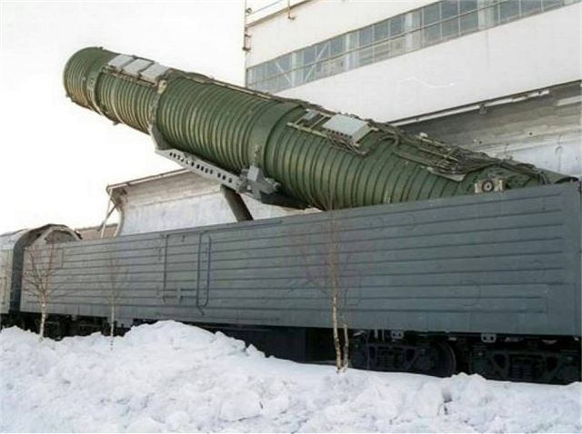 Russia has new idea of railway armed with ballistic missile with higher technological level 640 001