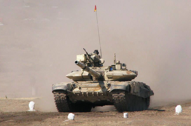Russia moving tanks and artillery to Syria