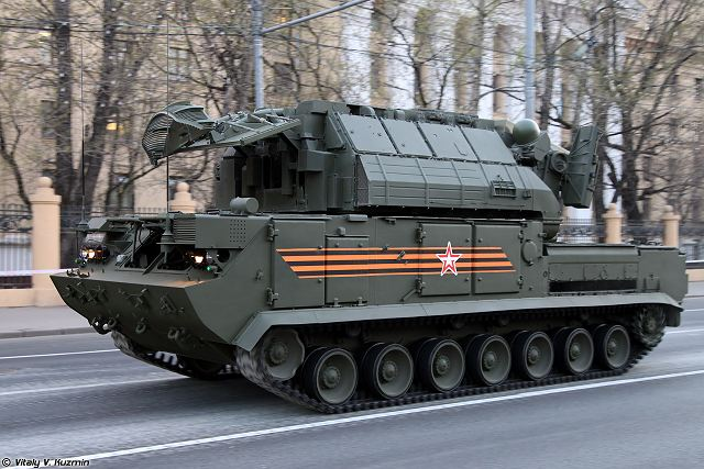 Russian TOR-M2U air defense missile system now able to engage aerial targets when is moving 640 001