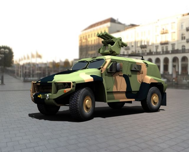 Saab vehicle mounted variant of the RB 70 NG MANPADS reached milestones 640 001