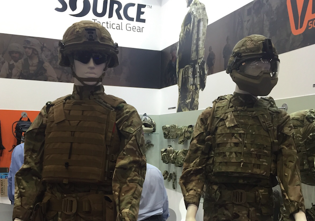 Source premiered the Virtus Soldier System at DSEi 2015 1
