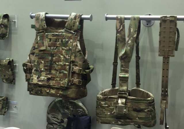 Source premiered the Virtus Soldier System at DSEi 2015 2