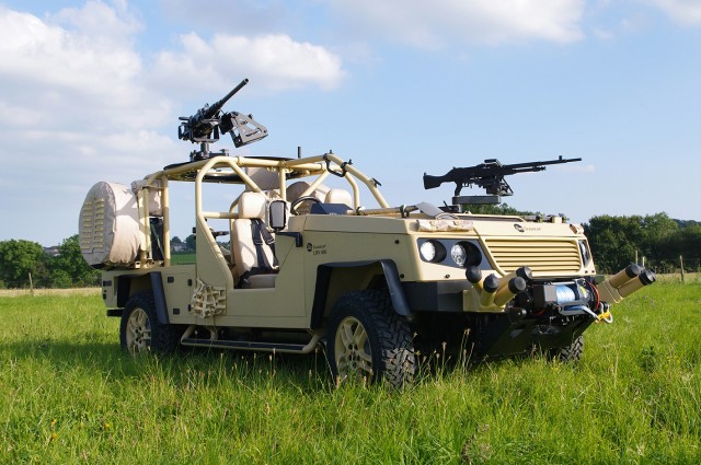 Supacat unveils LRV 400 Mk2 lightweight recce vehicle