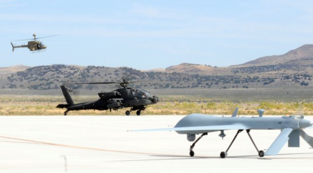 US Army Manned Unmanned Teaming