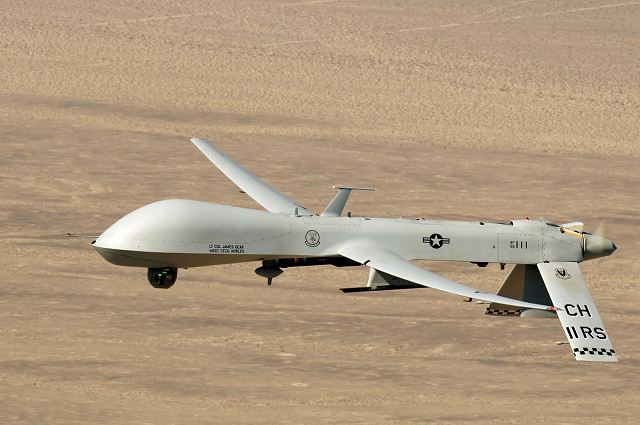 US troops to train soldiers of Latvia armed forces about the MQ-1 Predator UAV 640 001