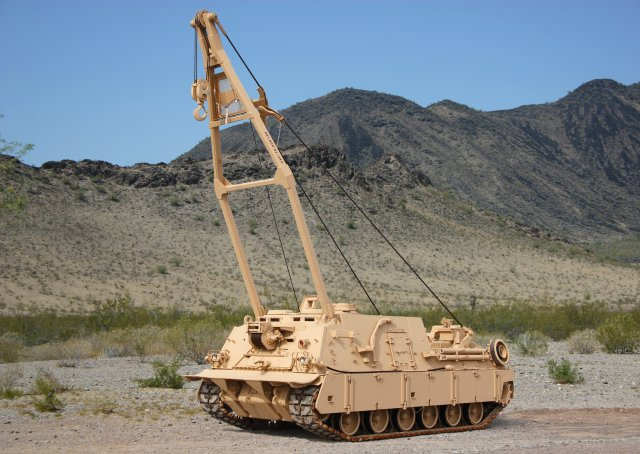 BAE Systems lands a 109mn contract from US Army for 36 M88A2 Hercules recovery vehicle 640 001