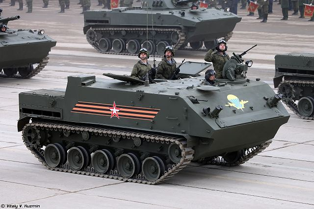 Russian Ministry of Defense (MoD) has officially brought into service BMD-4M Sadovnitsa (Gardener) airborne infantry fighting vehicle (AIFV) and BTR-MDM Rakushka (Shell) armoured personnel carrier (APC) developed by the Tractor Plants concern, according to a Russian military source.