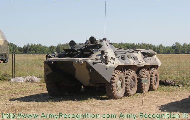 Russian Company VPK develops new BMM armoured medevac vehicle 640 001