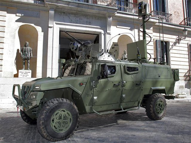 Spanish Army introduced first prototype of the VERT land reconnaissance vehicle 640 001