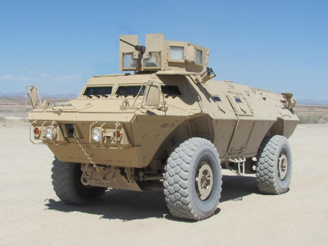 Textron Systems to provide Commando Select armored personnel carriers to Iraq and Columbia 640 001