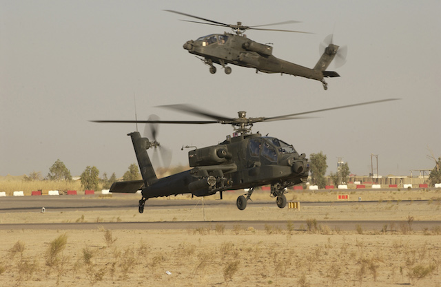 US to deploy 200 soldiers and Apache helicopters in Iraq
