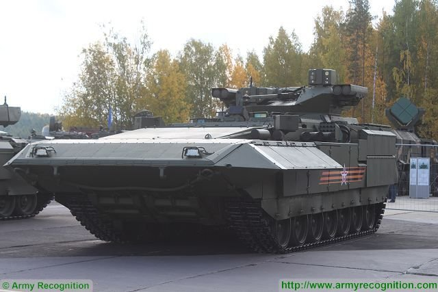 Uralvagonzavod plans to install tactical drone on T 15 Armata infantry fighting vehicle 640 001